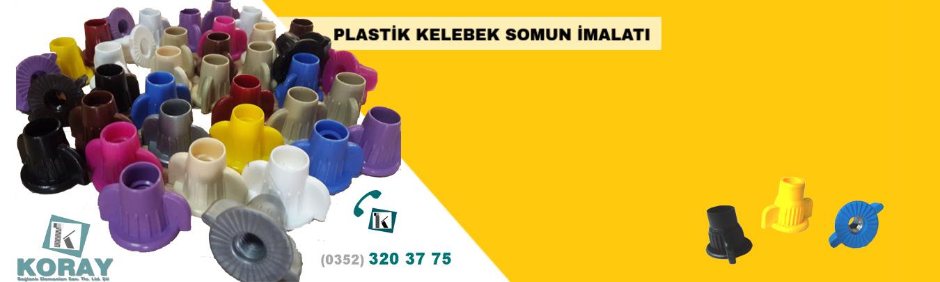 Plastik Kelebek Somun